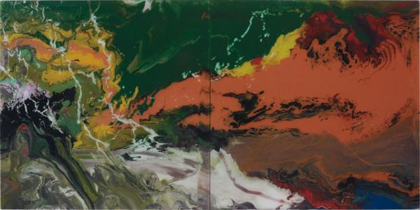 Gerhard Richter - P15 Flow