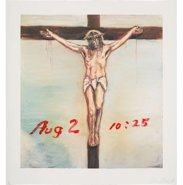 Julian Schnabel - Untitled (Aug 2)