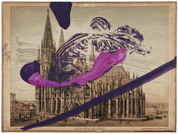Julian Schnabel - Untitled (Dom zu Köln)