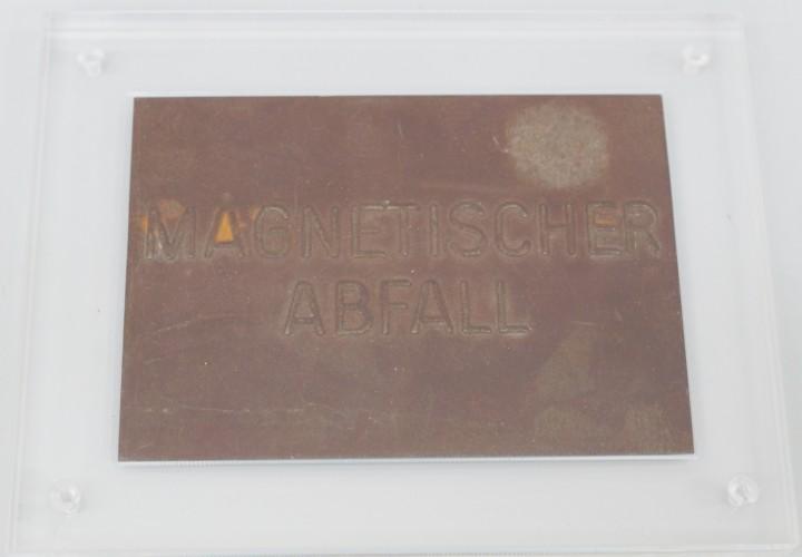 Joseph Beuys - Magnetische Postkarte