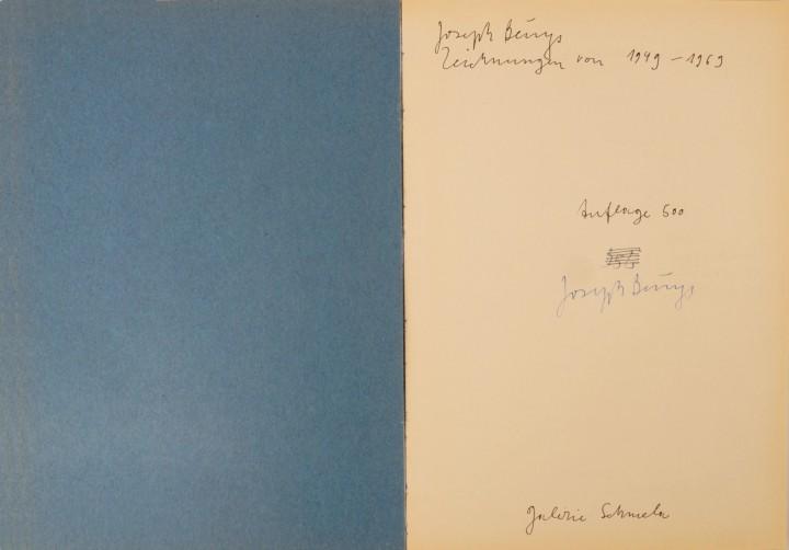 Joseph Beuys - Zeichnungen 1949-1969