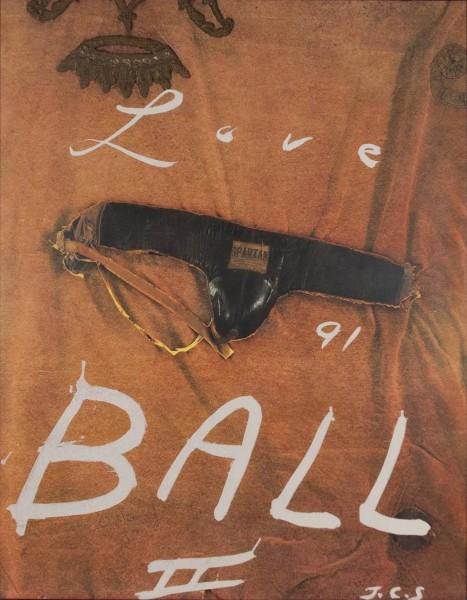 Julian Schnabel - Love Ball II