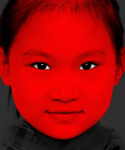 Xiao Hui Wang - Red Child