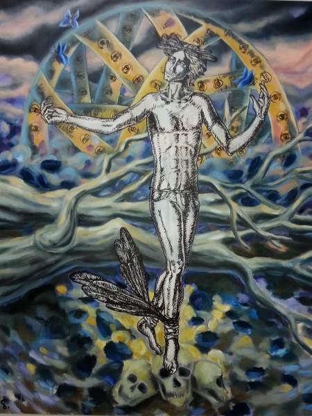 Yvonne van Acht - Hermes' Tanz des Todes