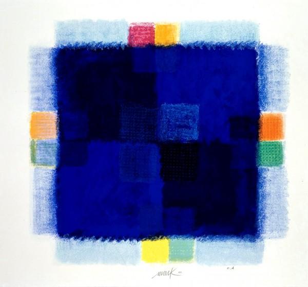 Heinz Mack - Blaues Fenster
