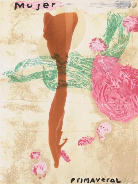 Julian Schnabel - Mujer Primaveral