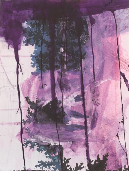 Julian Schnabel - Walt Whitman I (Waterfall) - 130x98cm