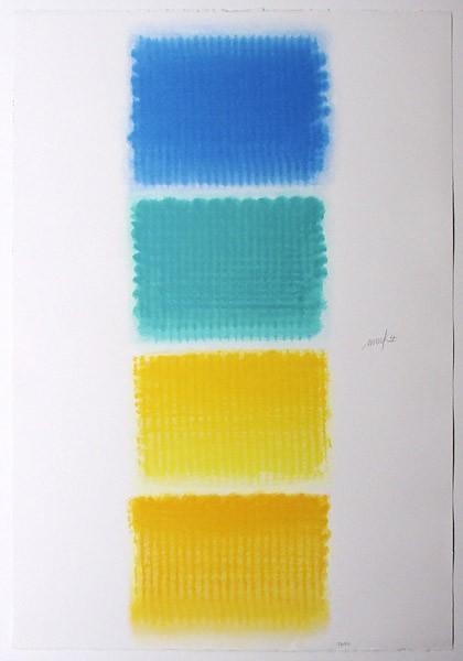 Heinz Mack - Vier Lyrische Farben