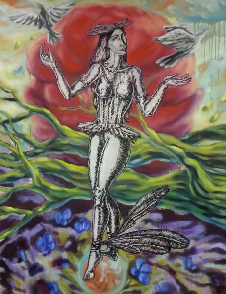 Yvonne van Acht - Gaias Tanz des Lebens