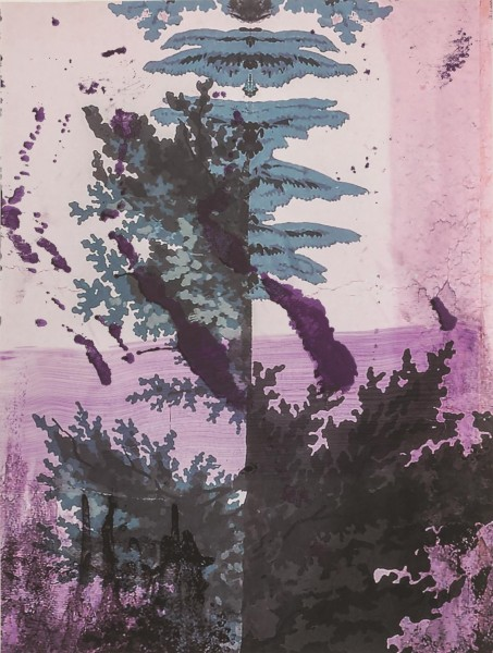 Julian Schnabel - Walt Whitman II (Lake) - 245x185cm