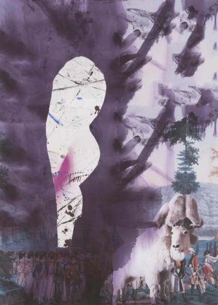 Julian Schnabel - Childhood 3 - 80x57cm