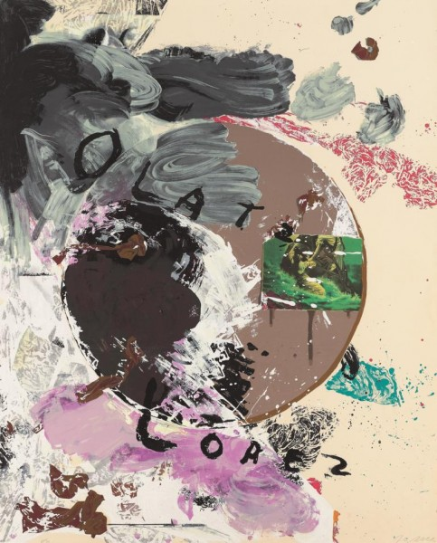 Julian Schnabel - (Untitled) Olatz Lopez