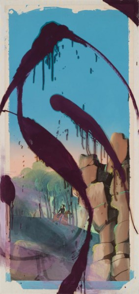 Julian Schnabel - The Sky Is Falling I