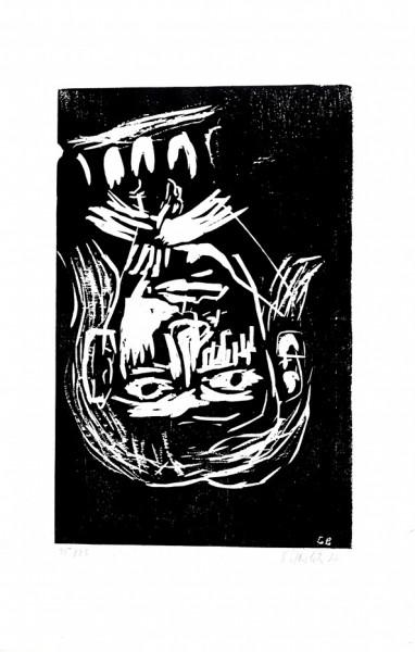 Georg Baselitz - ohne Titel (Kopf)