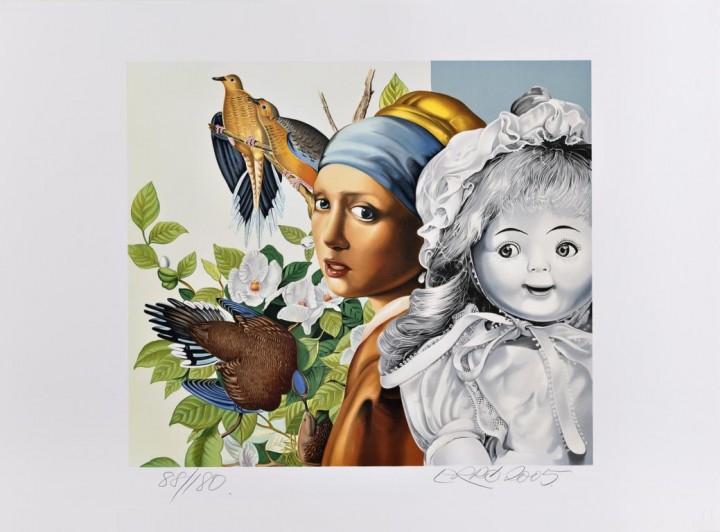 Erró - Vermeer