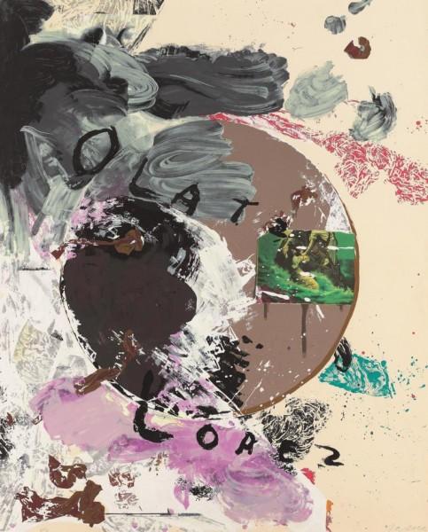 Julian Schnabel - (Untitled) Olatz Lopez