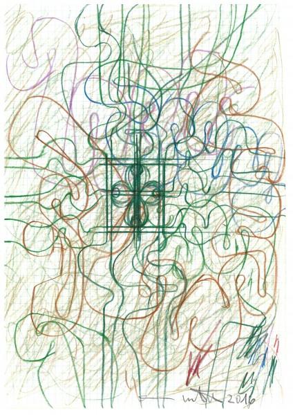 Hermann Nitsch - Zeichnung