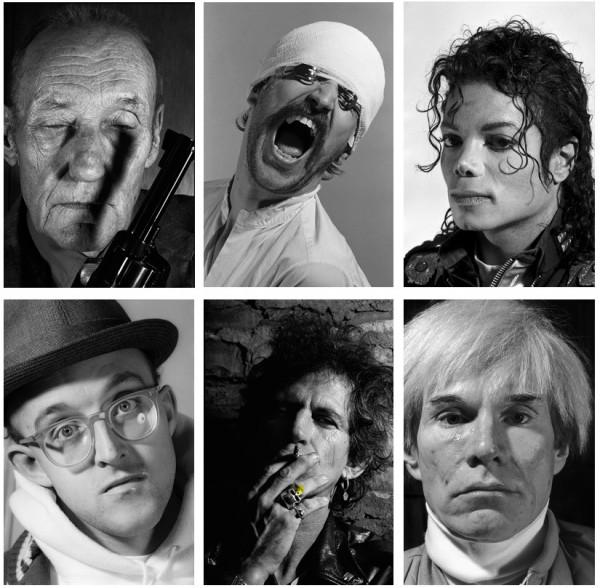 Gottfried Helnwein - Faces - 6-teilige Mappe