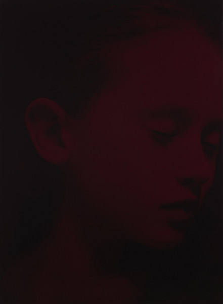 Gottfried Helnwein - Red Sleep 24