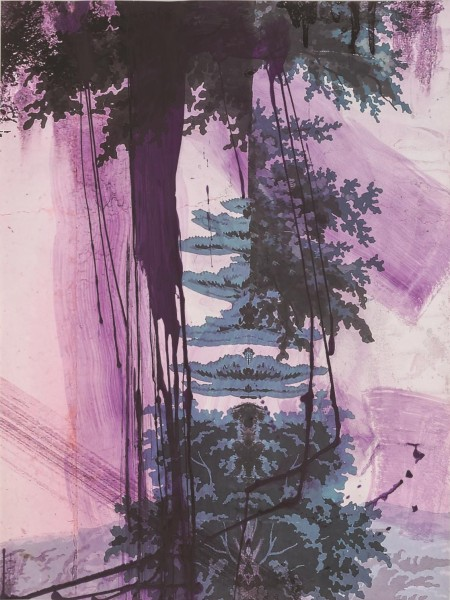 Julian Schnabel - Walt Whitman IV (Air) - 245x185cm