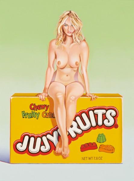 Mel Ramos - Jujy Fruits Judy