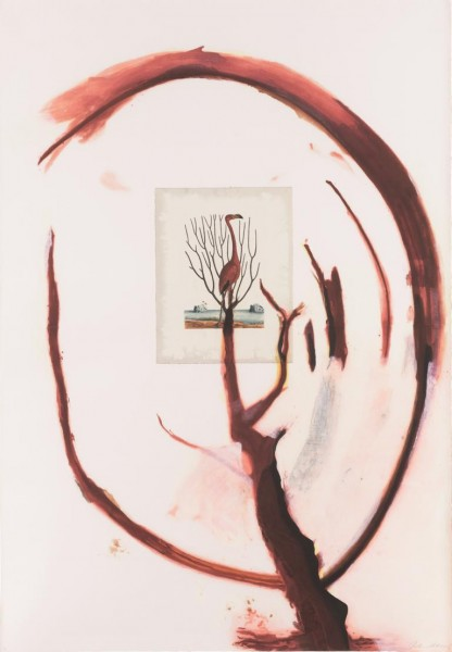 Julian Schnabel - Flamingo I
