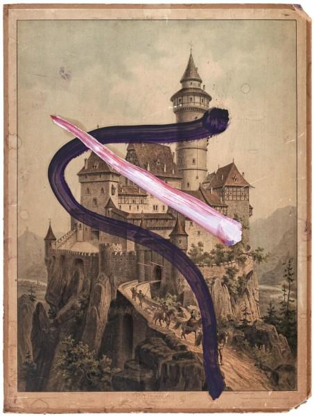 Julian Schnabel - Untitled (Ritterburg)